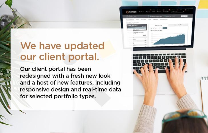 client portal update